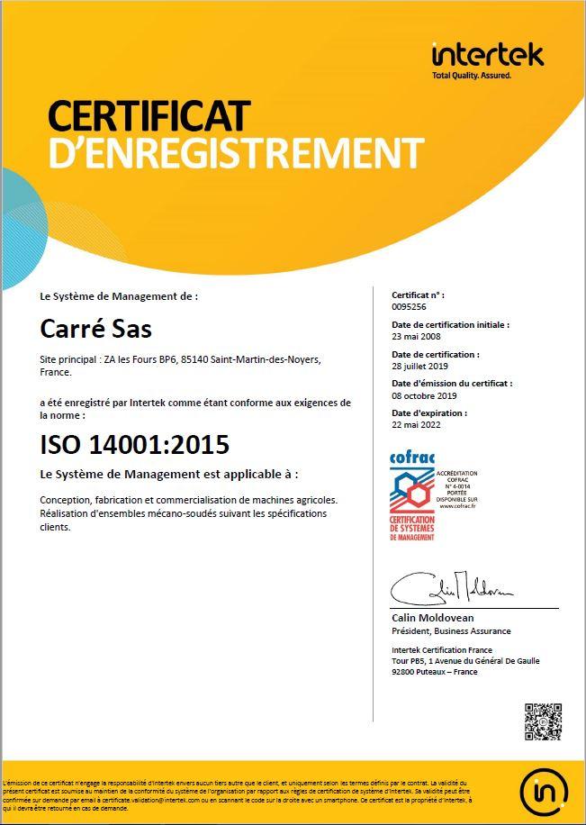 ISO 14001V15