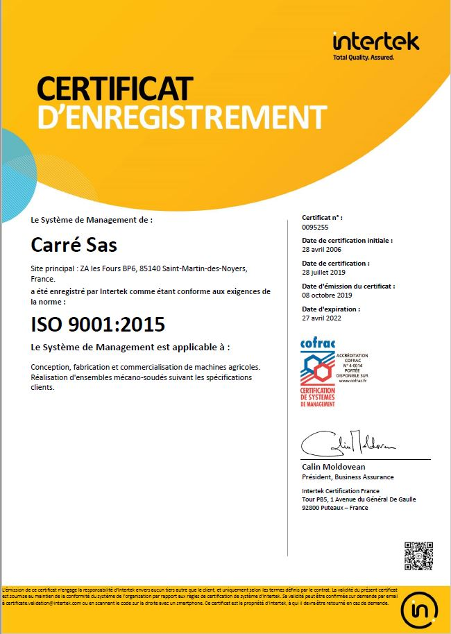 ISO 9001V15